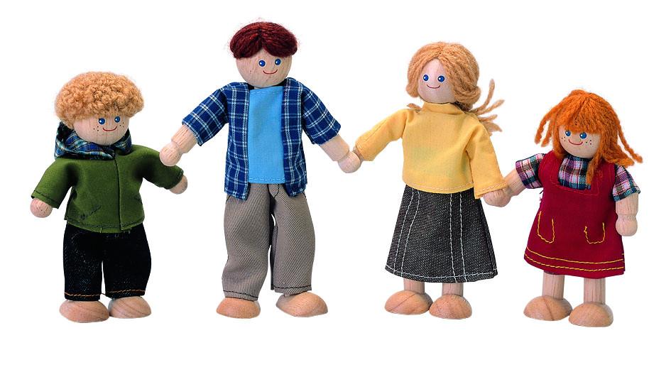 Кукольная семья своими руками