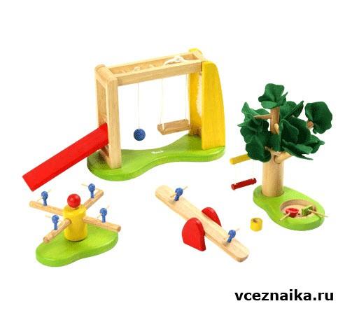 Игрушки для площадок своими руками