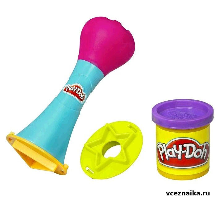 Как пластилин play doh сделать мягким