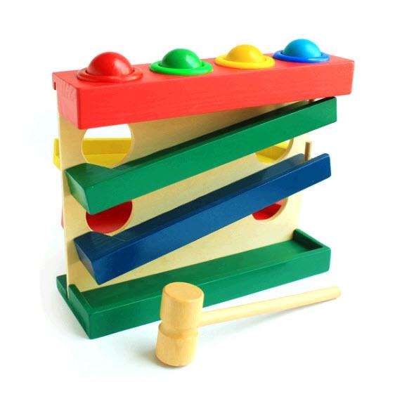 Горка-шарики большая, Мир деревянных игрушек,,Развивающие игрушки,Динамичес