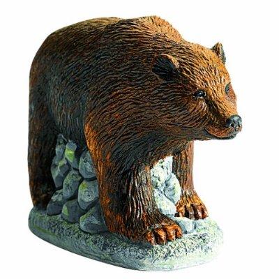 Медведь из гипса