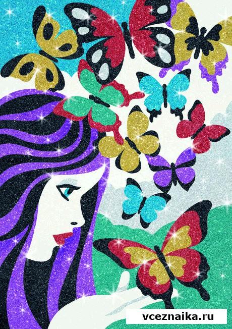 раскраски для девочек сложная