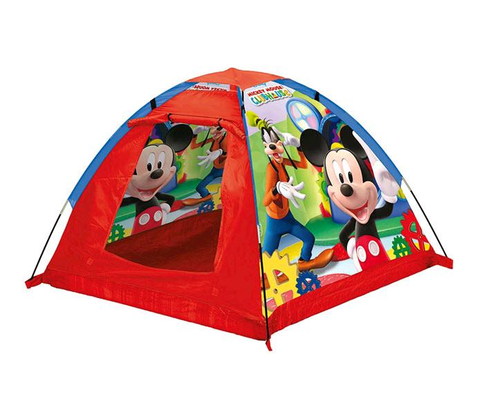 """Яркая палатка в форме купола  """"Микки Маус """" привлечет внимание малыша и..."""